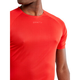 Craft Pro Dry Nanoweight Chemise manches courtes Homme, bright red